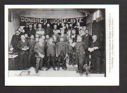22  St Saint Brieuc / Congrès Fédération Socialiste De Bretagne 1907 / Photo Copie Print ( Fond Neudin ) - Saint-Brieuc