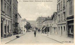 VIENNE  46  BOULEVARD DE LA REPUBLIQUE - Vienne