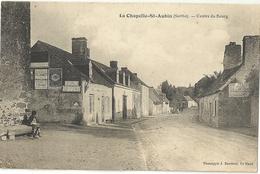 LA CHAPELLE St AUBIN.  Centre Du Bourg. - Andere Gemeenten