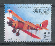 Inde 2007** Avion Platinium Jubilée 1932-2007
