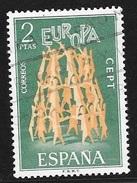 N° 1744   EUROPA ESPAGNE - Oblitere  -  1972 - 1971-80 Gebraucht