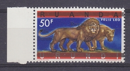 Burundi 1962 Lion/Phanter 1v ** Mnh (34537) - 1962-69: Ongebruikt