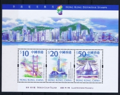 Hong Kong 1999 Mi Nr 910 - 912 Bl Nr 66 MNH/**/postfrisch/neuf Sans Charniere - 1997-... Sonderverwaltungszone Der China