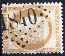 GC 1840 Sur 55 - L'ISLE SUR LA SORGUE - VAUCLUSE - Marcophilie (Timbres Détachés)