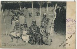 Geba Reguio Iro Mané E Suas Mulheres King With Harem 8 Wives Roi Cachet Non Voyagé Harem 8 Femmes - Guinea-Bissau