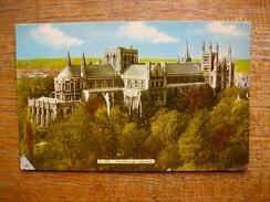 Angleterre , Cambridgeshire , Peterborough , Cathédral - England