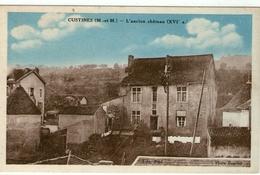 (5) CPA  Custines  Ancien Chateau   (Bon  Etat) - Autres Communes