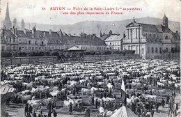 Autun: Foire De Saint-Ladre - Autun