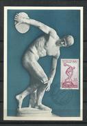 Italia_ 1960_Tarjeta Maxima. Maximum Card_Juegos Olímpicos De Roma. - Cartas Máxima
