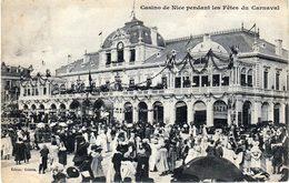 Casino De Nice Pendant Les Fêtes Du Carnaval - Carnaval