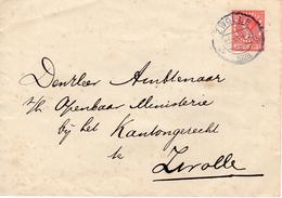Envelop G22 Lokaal Verzonden In Zwolle - Postal Stationery