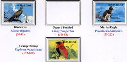 1994 - SIERRA LEONE - Mi. Nr.  2175+2177+2178 -  NH - ( **) - (K-EA-361388.16) - Sierra Leone (1961-...)