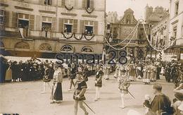 VANNES - CARTE PHOTO - PROCESSION DES FETES DE ST VINCENT - Vannes