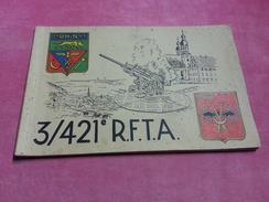 421è RFTA Loup Chauve Souris RHIN 1945 ELBE ALSACE DANUBE Canon Antiaérien DCA Défense Aérienne Anti Avion MUNSINGEN ... - Documents