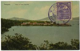 Amapala Visto De Punta Segunda Edit J. Rossner Stamped Amapala But Not Postally Used - Honduras
