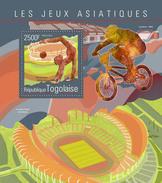 TOGO 2014 - Mountain Bike, Asian Games - YT BF906; CV = 14 €