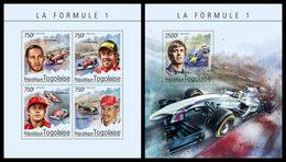 TOGO 2014 - Formula 1, Cars; CV = 31 € - Cars