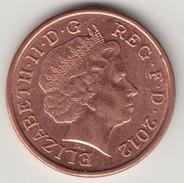 @Y@    One Penny  Groot Brittannië   2012   (4402) - 1971-… : Decimale Munten