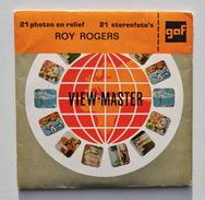 View-Master : Roy Rogers - Adventure Roundup - Année 1956 - Visionneuses Stéréoscopiques