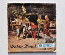 View-Master : ROBIN HOOD / Robin Des Bois - Année 1956 - Visionneuses Stéréoscopiques