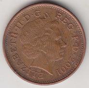 @Y@    One Penny  Groot Brittannië   2001   (4407) - 1971-… : Decimale Munten
