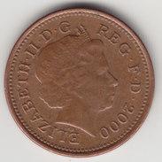 @Y@    One Penny  Groot Brittannië   2000   (4411) - 1971-… : Decimale Munten