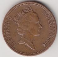 @Y@    One Penny  Groot Brittannië   1990   (4412) - 1971-… : Decimale Munten
