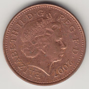 @Y@    One Penny  Groot Brittannië   2007   (4413) - 1971-… : Decimale Munten