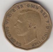 @Y@   3 Pence  Groot Brittannië   1942   (4415) - 1902-1971 :  Post-Victoriaanse Muntstukken