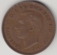@Y@  1/2 Penny  Groot Brittannië   1941   (4386) - 1902-1971 :  Post-Victoriaanse Muntstukken