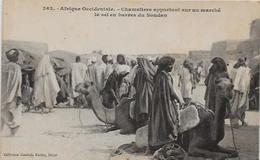 CPA SOUDAN Afrique Noire Non Circulé Types Ethniques Ethnies Fortier Métier - Soudan