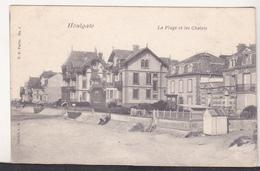 France Old Uncirculated Postcard - Houlgate - La Plage Et Les Chalets - Houlgate