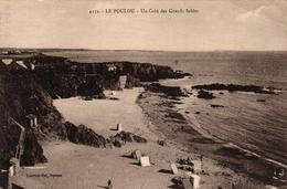 LE POULDU -29- UN COIN DES GRANDS SABLES - Le Pouldu