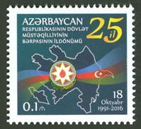 Azerbeidzjan / Azerbaijan - Postfris / MNH - 25 Jaar Onafhankelijkheid 2016 - Azerbeidzjan