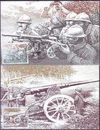 YUGOSLAVIA - JUGOSLAVIA - WW 1 - SALONIKA FRONT - Howitzer - Machine Gun - 1998 - Militaria