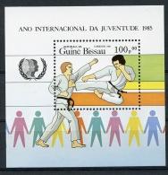 Guinea Bissau, 1985, International Youth Year, United Nations, Karate, Michel Block 267 - Guinea-Bissau