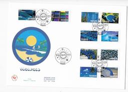 "Enveloppes  1er Jour FDC 2007  1 Enveloppe ""Vacances"" - 2000-2009"