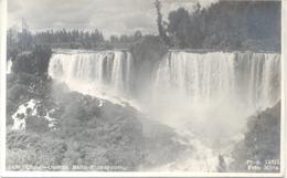 CHILE OSORNO SALTO PILMAYQUEN CPA FOTO MORA DOS DIVISE UNCIRCULATED CIRCA 1940 - Chili