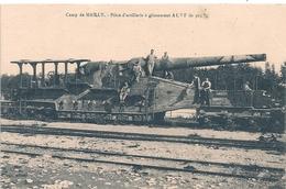 Cpa  Piece D'artillerie à Glissemenr ALVF De 305 - Ausrüstung