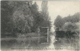 Seine Et Marne : Saint Germain Les Couilly, La Vanne Et La Passerelle Du Moulin Neuf - France
