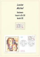 Louise Michel, FDC, Livré Avec Un Timbre Neuf. - 1980-1989