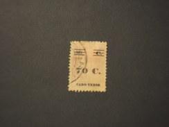 CABO VERDE - 1931 CERES  70 Su 80 - TIMBRATO/USED - Isola Di Capo Verde