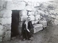 CPA Jordanie Tomb Of Lazar 2 TP Anciens Dont 1 Surchargé - Jordanie