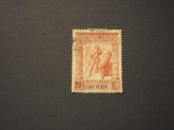 CABO VERDE - 1938/40 Soldato  20 E. - TIMBRATO/USED - Isola Di Capo Verde