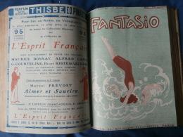 FANTASIO Belle Reliure Amateur Reprenant  39 Numéros De 1906 à 1916 - 1900 - 1949