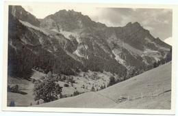 LENK Fermeltal Gel. 1930 Bahnpost Zweisimmen Lenk - BE Berne