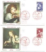 FDC 1971 CROIX ROUGE - GREUZE - FDC
