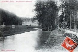 Radepont (Eure) - Perspective Sur Le Château - Other Municipalities
