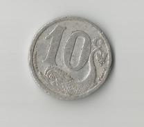 CHAMBRE DE COMMERCE DE LA ROCHELLE  10 Centimes ( En L état  Sur La Photo ) - Monedas / De Necesidad
