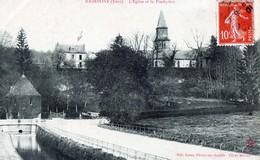 Radepont (Eure) - L'Eglise Et Le Presbytèse - Other Municipalities